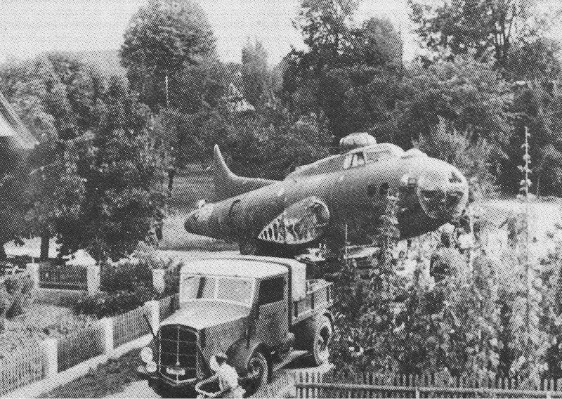 Für den Abtransport musste die B-17 demontiert werden. (209_1)