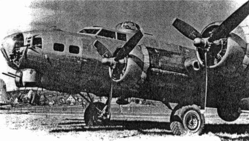 Die B-17 von McCallum hatte am Schluss noch mit Treibstoffproblemen zu kämpfen. (258_1)