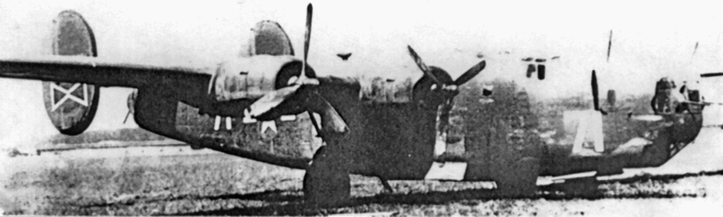 Edward Eibs liess die Bomben durch die geschlossenen Bombentore abwerfen, weil diese sich nicht öffnen liessen. (151_1)
