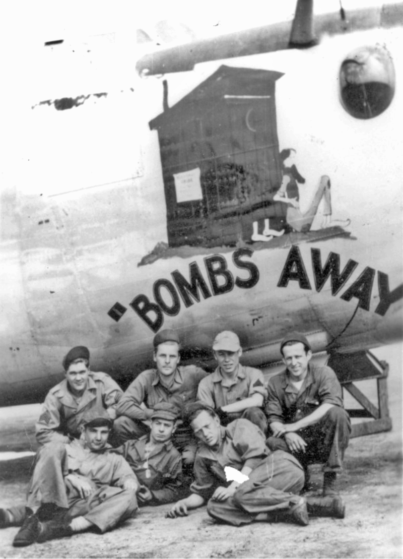 "Die Nose Art der ""Bombs Away"". (160_2)"