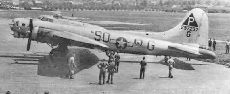 Dick Mount landete die Maschine mit nur einem Motor in Dübendorf. (285_2)