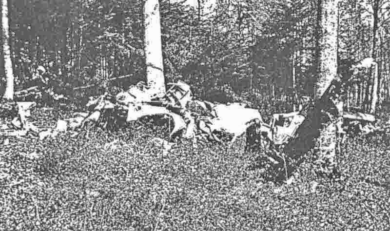 Von der Marauder blieb kein Teil übrig, welches an ein Flugzeug erinnerte. (410_1)
