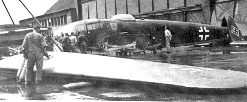Im September 1940 wurde die He-111 für den Abtransport nach Deutschland vorbereitet. (15_2)