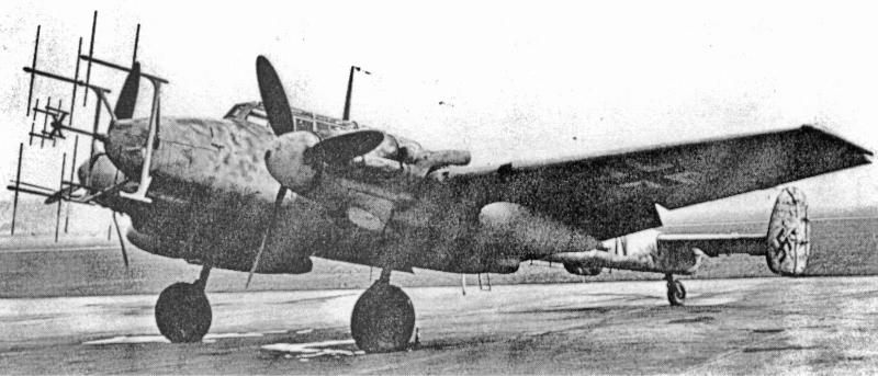 Mit dieser Maschine landete Johnen nach 2 Uhr in Dübendorf. (25_2)