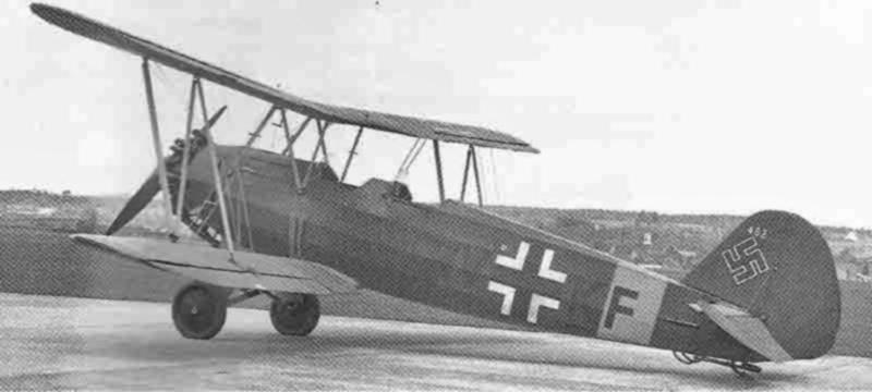 Die Stieglitz kurz nach der Landung in Dübendorf. (435_1)
