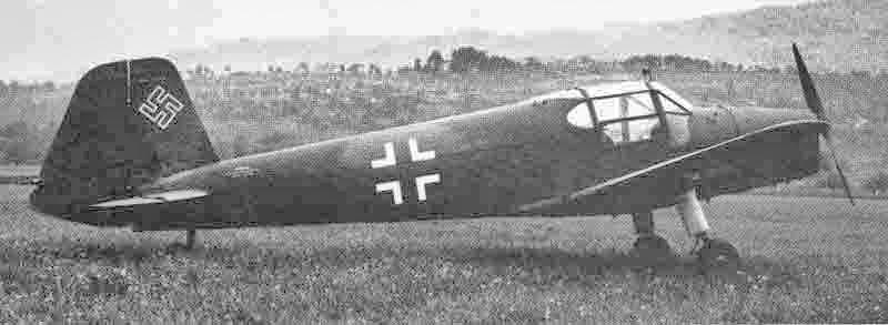 Diese Bestmann landete ebenfalls am 26. April 1945 kurz nach der Überquerung der Grenze bei Oberriet. (355_1)