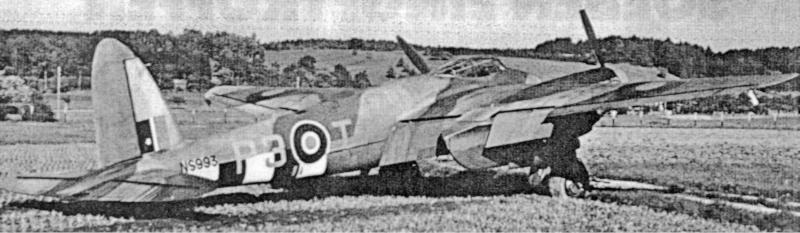 Am 30. September 1944 wurde die NS993 in Dübendorf zur Landung gezwungen. (63_1)