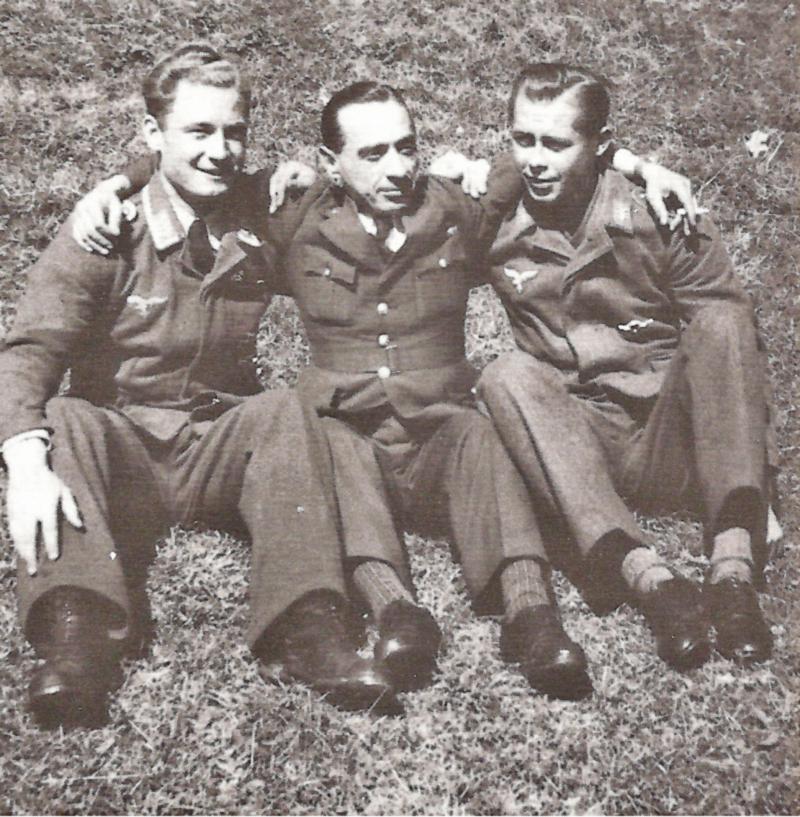 Von Links nach Rechts: Martin Villing, Alfredo Porta und Heinz Scharf. (72_1)