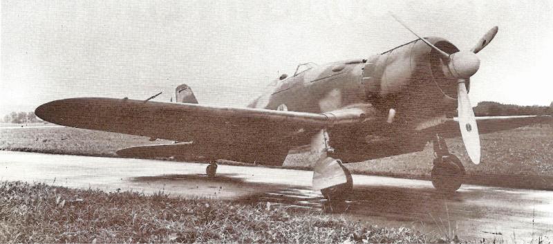 Die fabrikneue Fiat hatte erst vier Probeflüge hinter sich. (72_2)