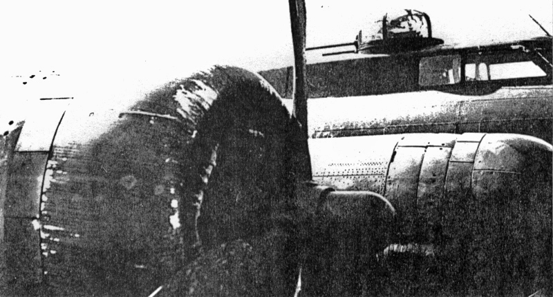 Die Kanzel des Bugschützen. (247_4)