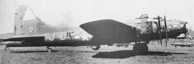 Die Bodenmannschaft in Dübendorf zählte an dieser Maschine 39 Einschüsse. (257_1)