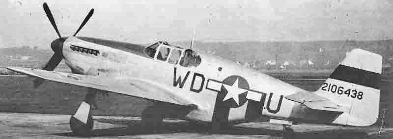 Auf dem Landweg gelangte die Mustang nach Dübendorf, wo sie wieder flugbereit gemacht wurde. (372_1)