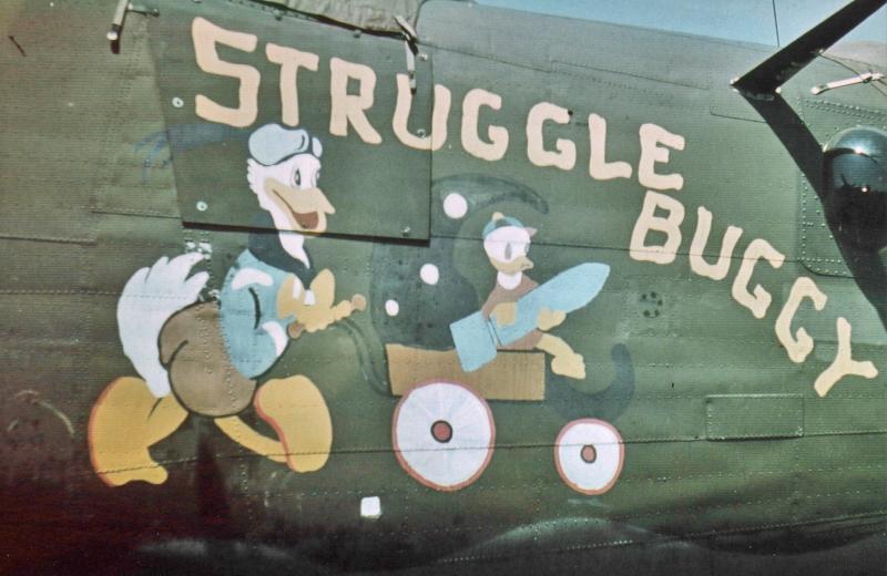"""Die """"Struggle Buggy"""" in Dübendorf. (179_1)"""