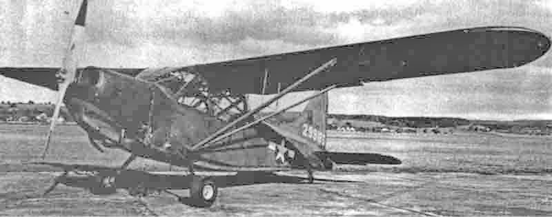 Kurz nach der Notlandung in der Westschweiz wurde die Sentinel nach Dübendorf überflogen. (391_1)