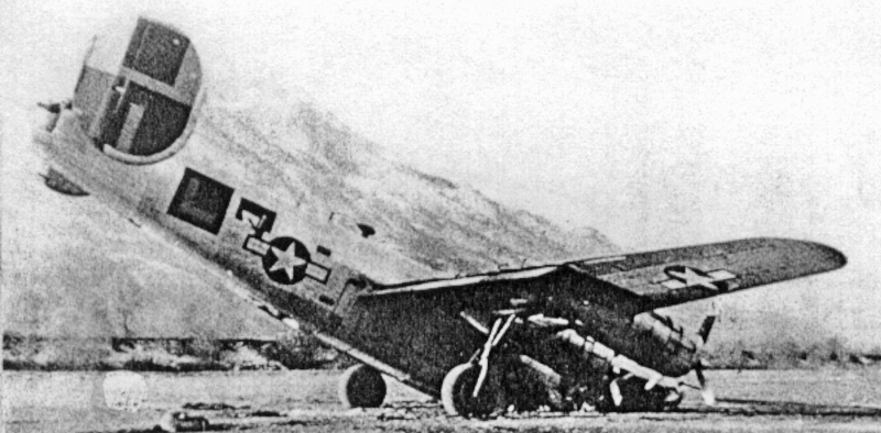 John W. Livermore überzog die Maschine beim Landeanflug auf Magadino und stürzte aus geringer Höhe auf die Landebahn ab. (185_1)