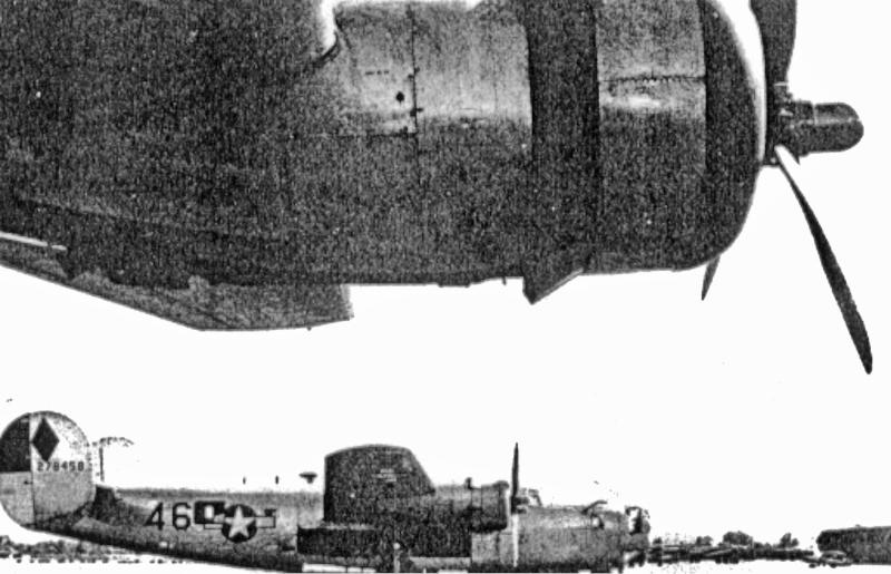 Die Maschine wurde in Dübendorf für den Rückflug nach Burtonwood bereitgestellt. (190_3)
