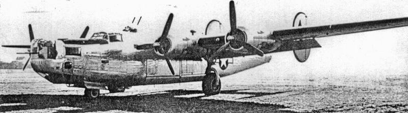 1LT Donald K. Fotheringham landete die Maschine mit nur noch 24 Gallonen Treibstoff in Dübendorf. (191_2)