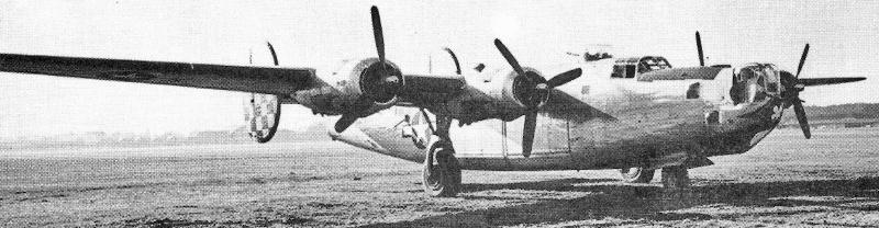 Eine der letzten Liberato,r die in Dübendorf landete. (193_2)