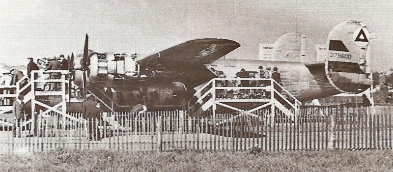 """Im Sommer 1945 wurde die """"Dopey"""" während eines Tages der Öffentlichkeit zugänglich gemacht. (197_3)"""