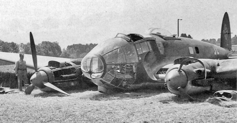 Der rechte Motor wurde bereits über Frankreich stillgelegt. (13_3)