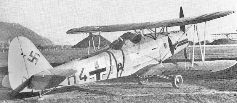 Die H4+VA am 30. November 1941 in Basel-Birsfelden. (32_2)