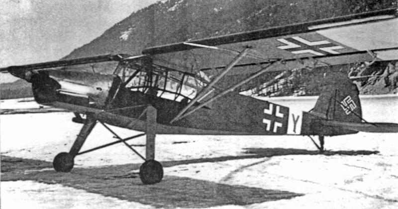 Die zweite Storch musste 1948 abgebrochen werden. Eine weitere Storch (A-96), die von der Aero-Gesellschaft St. Gallen angekauft wurde, steht seit 1965 im Deutschen Museum in München. (76_1)