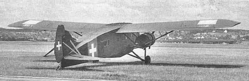 Die Ca 148 wurde etwa an der Stelle geparkt, wo heute das Fliegermuseum steht. (388_2)