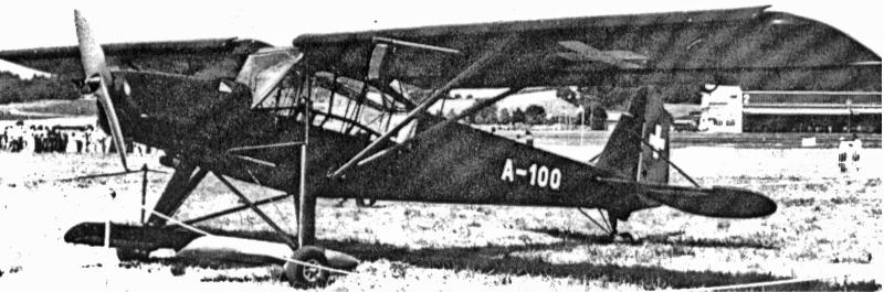Die RN+VJ wurde als A-100 in die Schweizer Flugwaffe übernommen. (76_3)