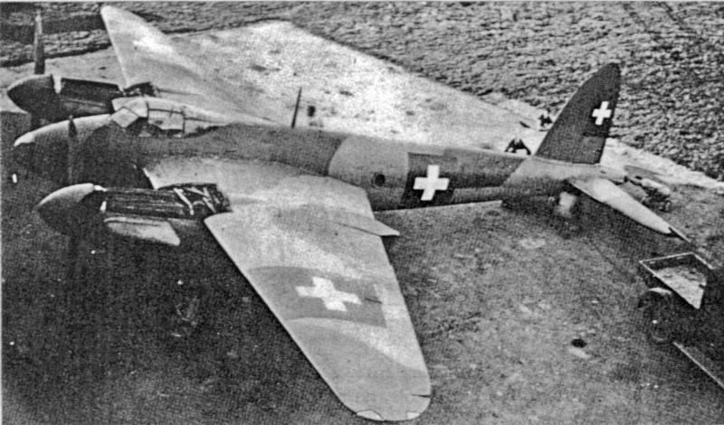 Aus der DK310 wurde schliesslich die E-42, hier Ende 1944. (59-2)