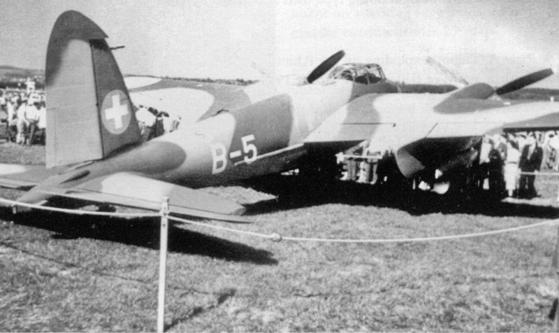 Am 24. September 1949 wurde die DK310 an einem Flugmeeting in Dübendorf ausgestellt. (65_2)