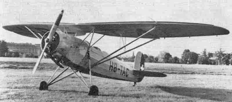 Nach der Kapotage wurde die Levente II  bei der Motorfluggruppe Luzern repariert und mit einem Siemens SH 14A4 von 160 PS ausgerüstet. Dies bewirkte auch eine Umkonstruktion des Fahrwerkes. (407_1)